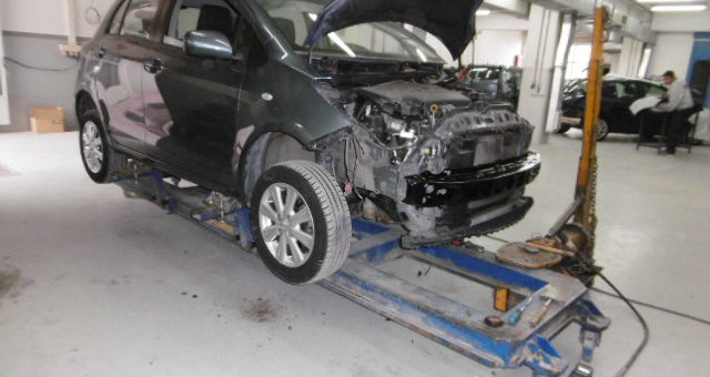 Επισκευές Τρακαρισμένων Toyota Yaris